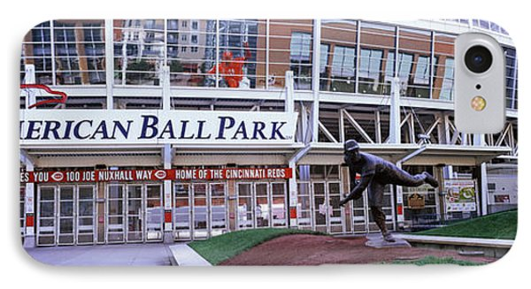 Baseball Stadium, Great American Ball IPhone Case by Panoramic Images