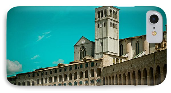 Basilica Of San Francesco Assisi  Phone Case by Raimond Klavins