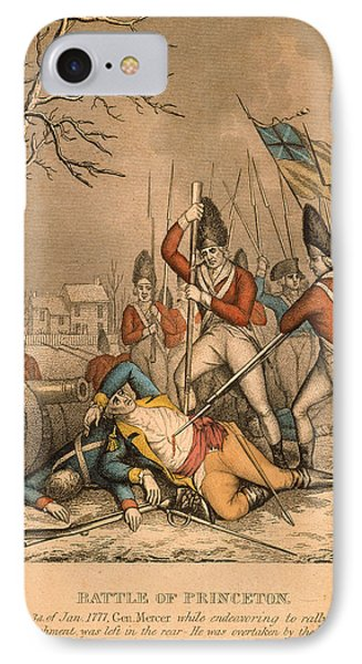 Battle Of Princeton, 1777 Phone Case by Granger