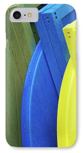 Beach Chair Palette  Phone Case by Allen Beatty