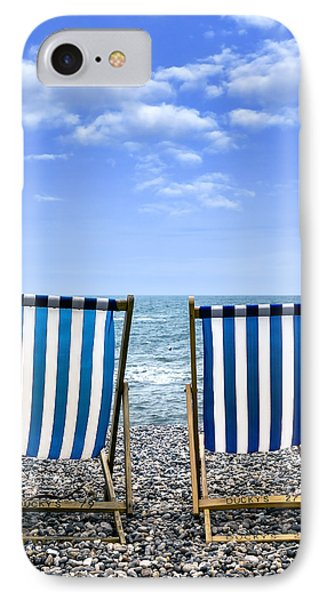 Beach Chairs Phone Case by Joana Kruse