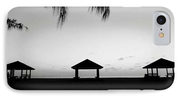 IPhone Case featuring the photograph Beach Huts by Amar Sheow
