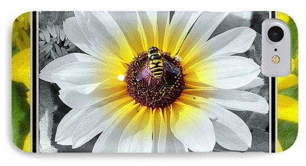 Bee Mine IPhone Case by Charles Feagans