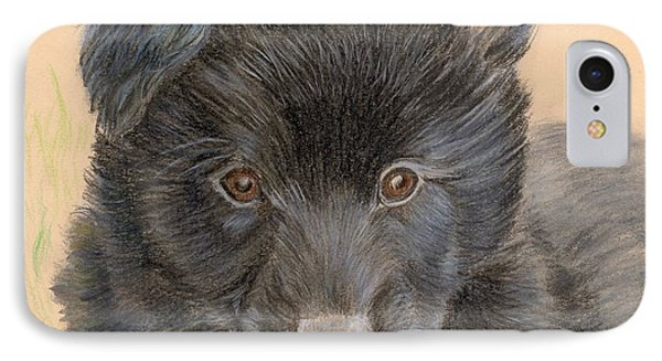 Belgian Sheepdog Puppy IPhone Case