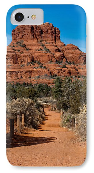 IPhone Case featuring the photograph Bell Rock by Randy Bayne