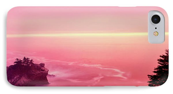 Big Sur Coast At Sunset, California, Usa IPhone Case