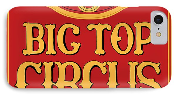 Big Top Circus Phone Case by Kristin Elmquist