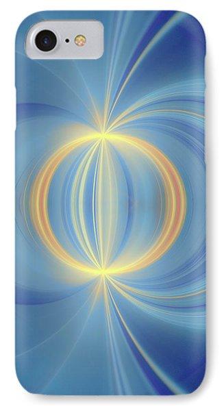 Bipolar Conceptual Illustration IPhone Case