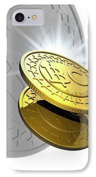 Bitcoins IPhone Case