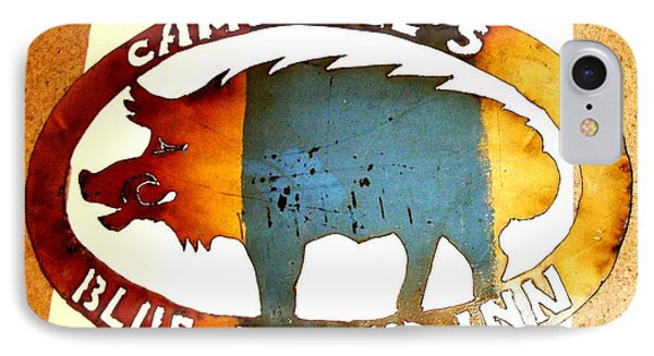 Blue Boar Inn IPhone Case by Larry Campbell
