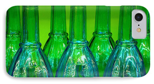 Blue Bottles IPhone Case