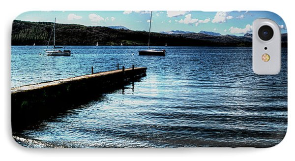 IPhone Case featuring the photograph Boats In Wales by Doc Braham