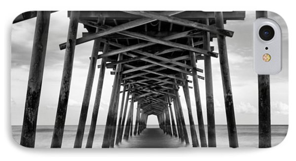 Bogue Inlet Fishing Pier #2 IPhone Case