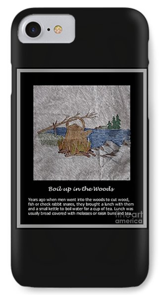 Boil Up In The Woods IPhone Case by Barbara Griffin