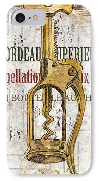 Bordeaux Blanc 2 IPhone Case by Debbie DeWitt