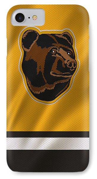 Boston Bruins Uniform IPhone Case by Joe Hamilton