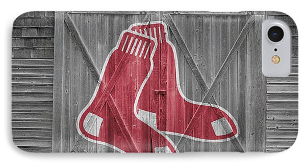 Boston Red Sox Phone Case by Joe Hamilton