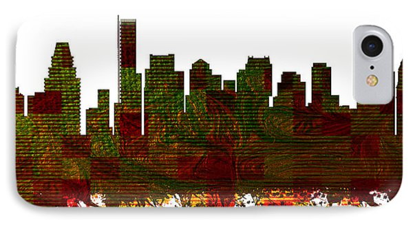 Boston Skylines IPhone Case by MotionAge Designs