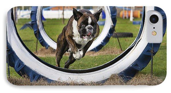 Boxer Dog Phone Case by Johan De Meester