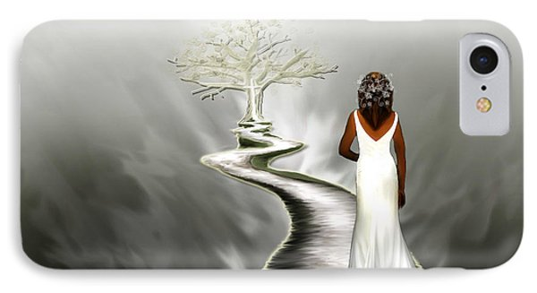 Bride Of Christ  IPhone Case by Jennifer Page