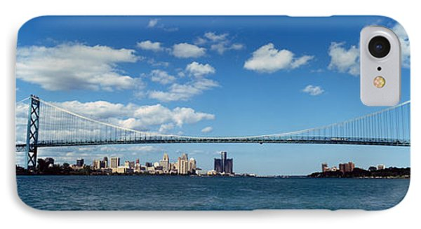 Bridge Across A River, Ambassador IPhone Case by Panoramic Images