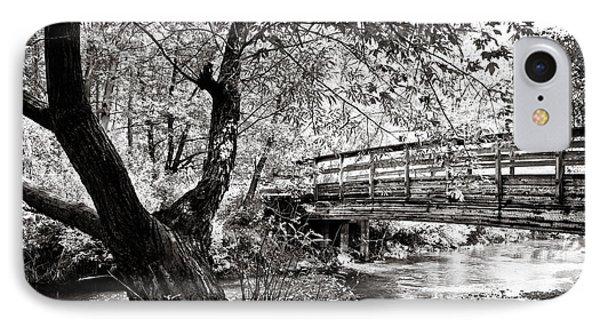 Bridge At Ellison Park IPhone Case by Sara Frank