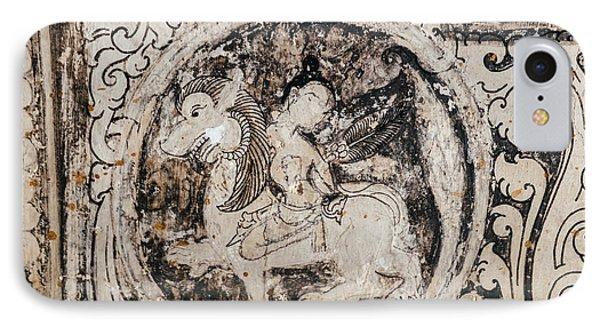 Buddhist Mural IPhone Case
