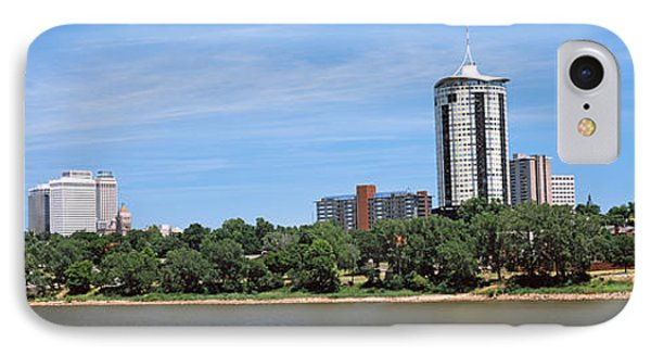 Buildings At The Waterfront, Arkansas IPhone Case by Panoramic Images