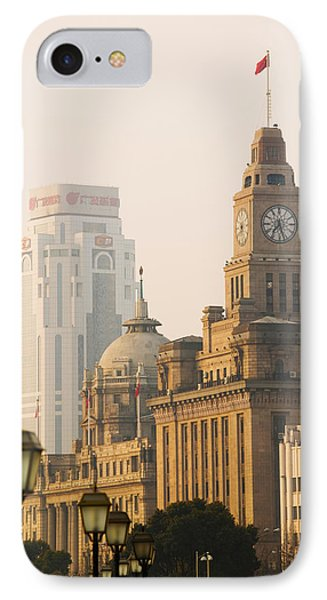 Buildings In A City, The Bund IPhone Case by Panoramic Images