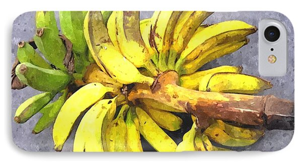 Bunch Of Banana Phone Case by Lanjee Chee