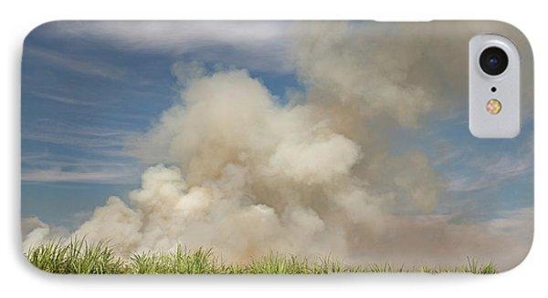 Burning Sugar Cane IPhone Case by Jim West