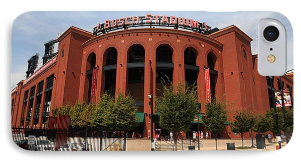 Busch Stadium - St. Louis Cardinals Phone Case by Frank Romeo
