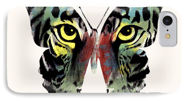 Butterfly 2 IPhone Case by Mark Ashkenazi