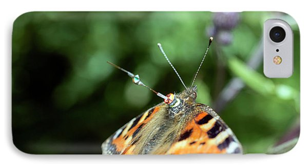 Butterfly Radar Tagging IPhone Case