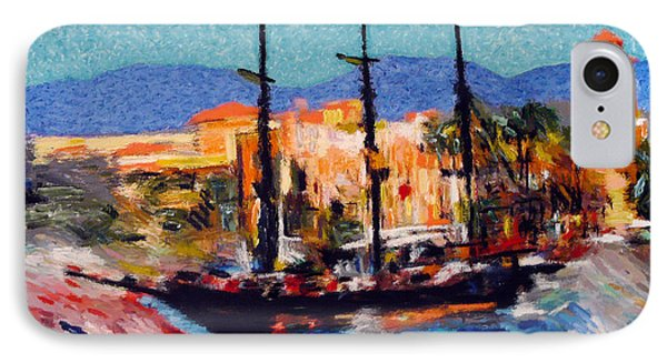 Cabo Pirate Ship IPhone Case by Gerhardt Isringhaus