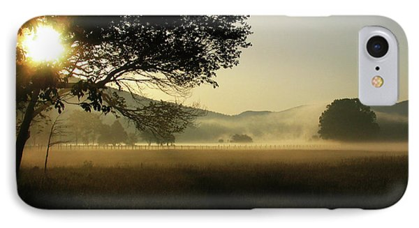 Cades Cove Sunrise II IPhone Case