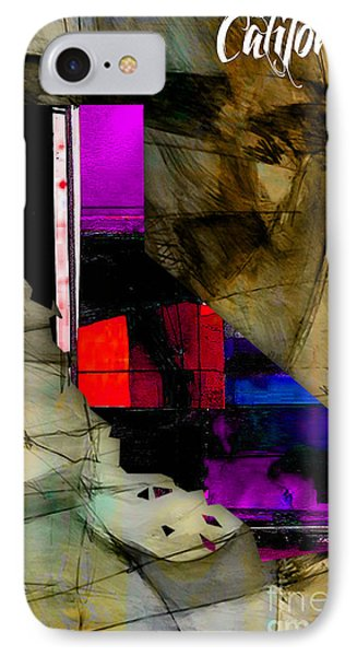 California Map Watercolor IPhone Case