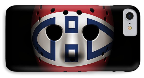 Canadiens Goalie Mask IPhone Case