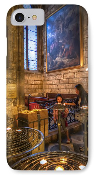 Candles In The Cathedral IPhone Case by Tim Stanley