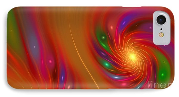 IPhone Case featuring the digital art Candy Nebula by Hanza Turgul