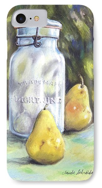 Canned Pears  IPhone Case by Claude Schneider