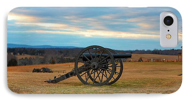 Cannons Of Manassas Battlefield IPhone Case