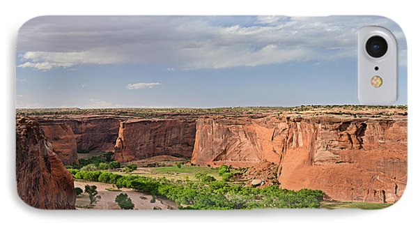 Canyon De Chelly From Sliding House Overlook Phone Case by Christine Till
