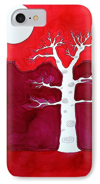 Canyon Tree Original Painting IPhone Case by Sol Luckman