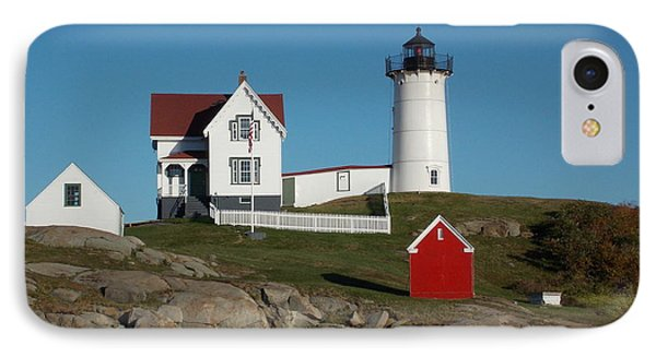 Cape Neddick IPhone Case by Catherine Gagne