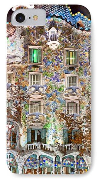 Casa Batllo - Barcelona IPhone Case by Luciano Mortula
