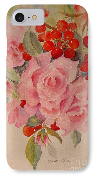 IPhone Case featuring the painting Cascade by Beatrice Cloake