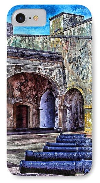 Castillo De San Cristobal Phone Case by Thomas R Fletcher