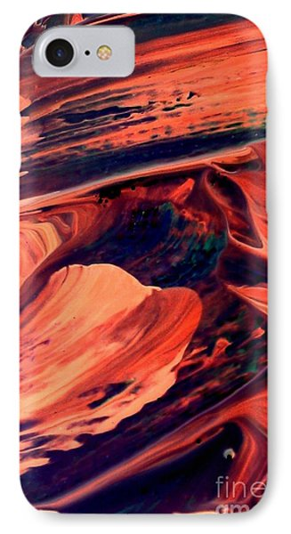 IPhone Case featuring the painting Catalyst by Jacqueline McReynolds