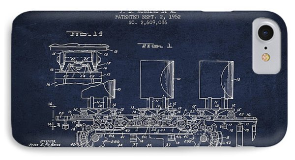 Caterpillar Drive Chain Patent From 1952 IPhone Case by Aged Pixel
